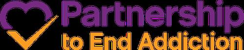 Partnership to end addiction logo image